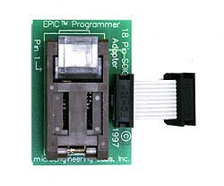 18 Pin SOIC Adapter (for /SO parts)