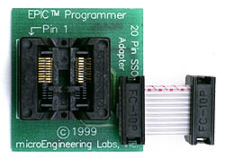 20 Pin SSOP Adapter (for /SS parts)