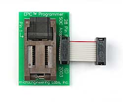SOIC Adapter for 16F57
