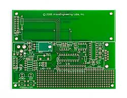 LAB-X18 Experimenter Board (Bare PCB)
